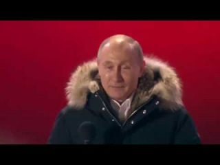 Реакция В. Путина на итоги выборов