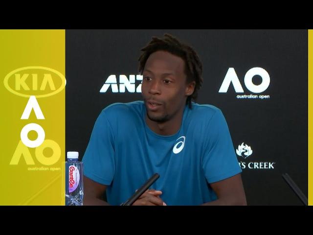 Gaël Monfils press conference (2R)   Australian Open 2018