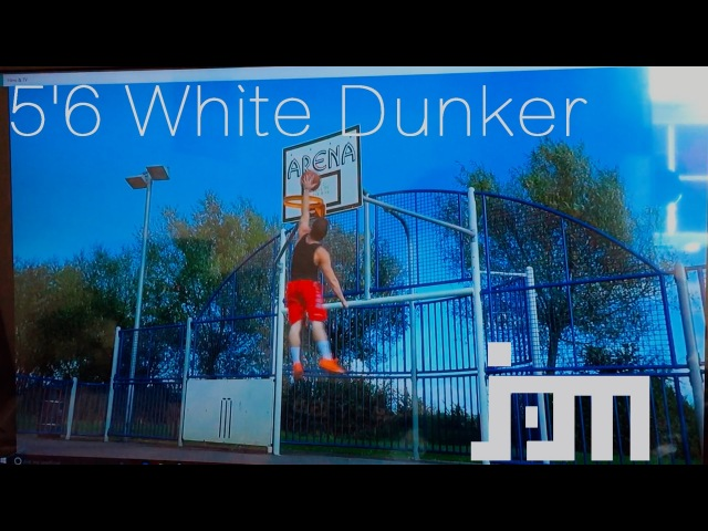 5'6 White Guy Dunks After 2 Years of Training (MOTIVATION)