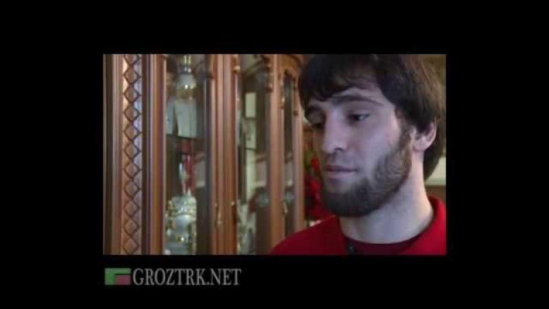 Чечня. Профессиональный спорт. Хусейн Халиев- боец ММА.