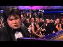 Японский пианист, слепой от рождения, исполняет 2-й фортепианный концерт Рахманинова