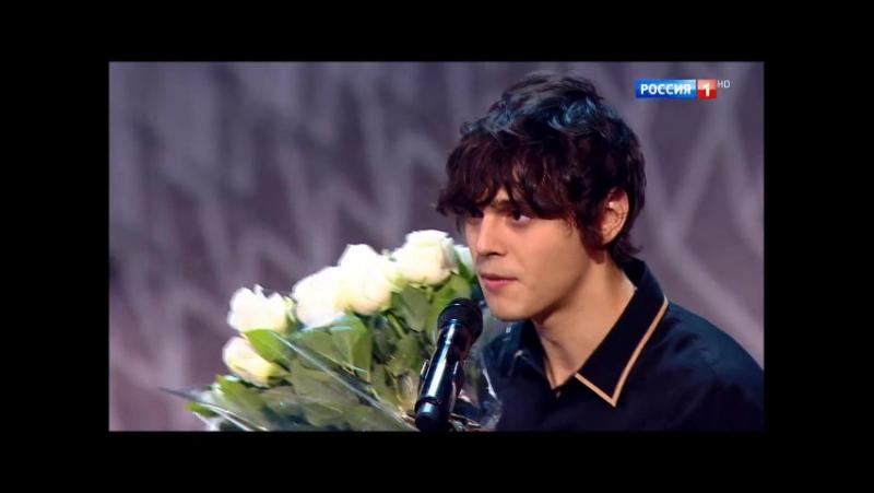 Награждение Никиты на 13 ой Российской национальной музыкальной премии