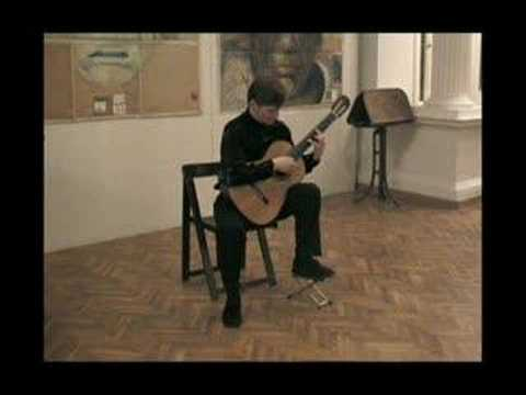 M Goldort guitar plays La Maja de Goya by Granados