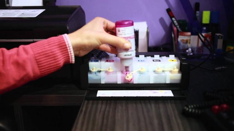 Инструкция заправки принтера epson L800 » Freewka.com - Смотреть онлайн в хорощем качестве