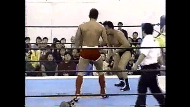 Alexander Otsuka, Kazunari Murakami vs. Naoki Sano, Yuki Ishikawa (Battlarts - 25.03.2000)