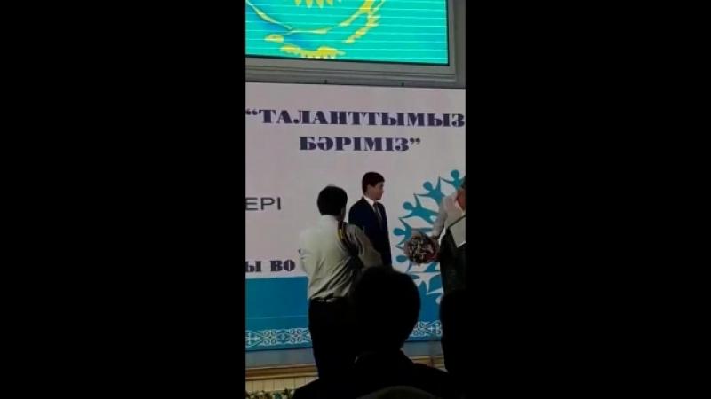 Алтын дəрігер Тағаев Бақыт Нұрсұлтанұлы