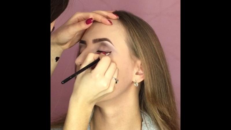 Урок макияжа Пяста Дарья