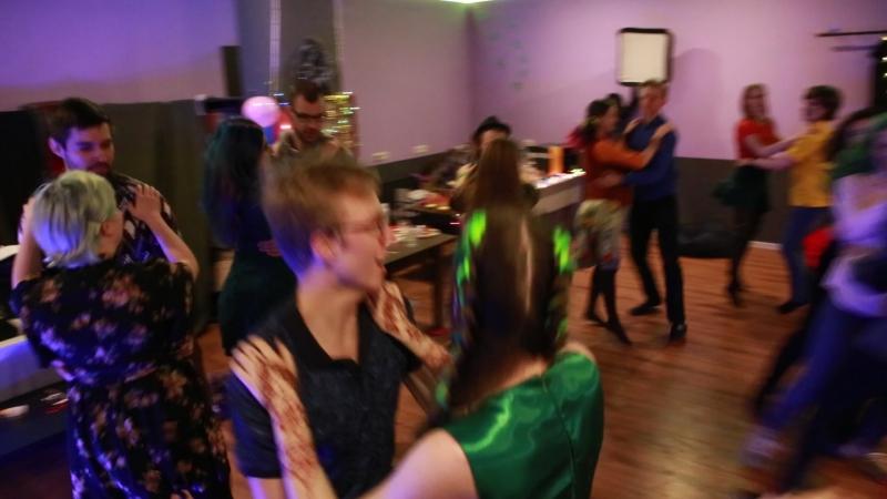 День рождения Юли. Ирландские танцы.