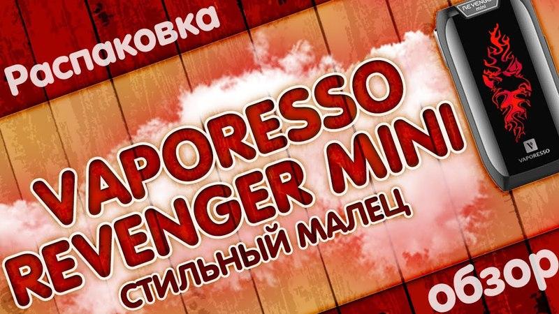 Vaporesso Revenger Mini 85W | 2500 mAh | СТИЛЬНЫЙ МАЛЕЦ