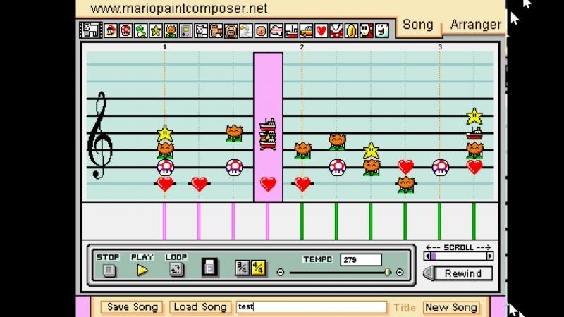 Mario paint cacophony