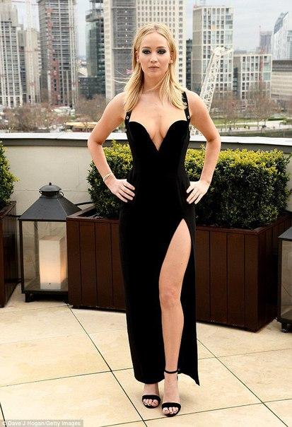 Дженнифер Лоуренс объявила себя поклонницей серии фильмов «Пятьдесят оттенков серого»