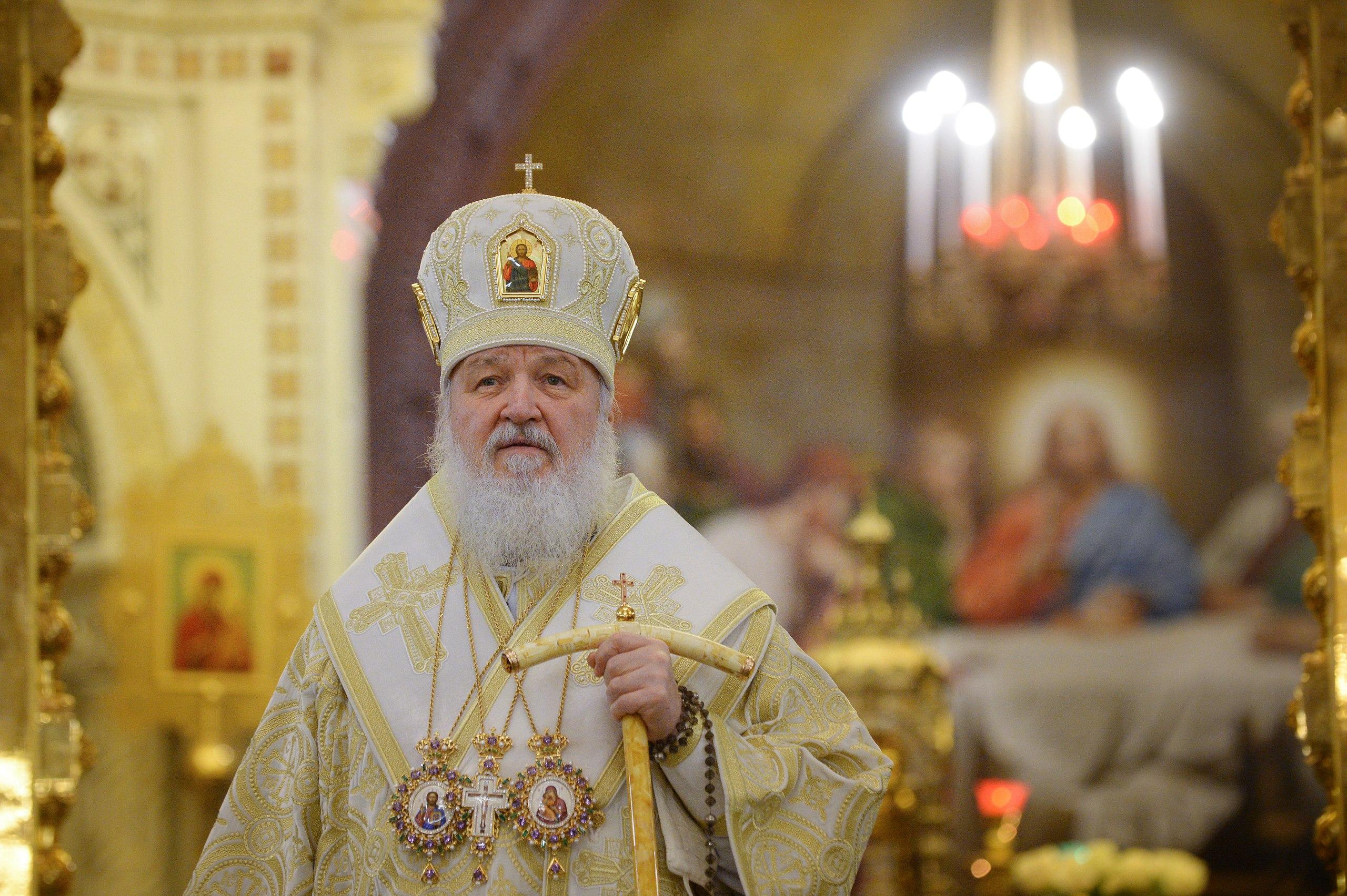 Проповедь Святейшего Патриарха Московского и всея Руси Кирилла перед началом новогоднего молебна 31 декабря 2017 года