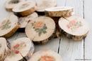 Перенос изображения на деревянные спилы