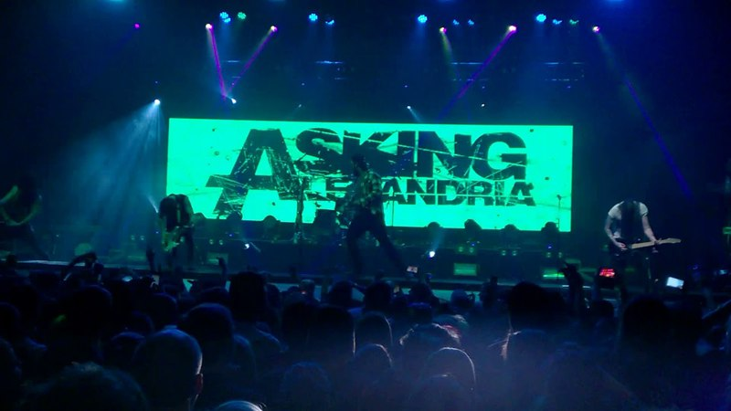 Asking Alexandria - The Final Episode [Let's Change the Channel] (The Resurrection Tour 2018, ATL)