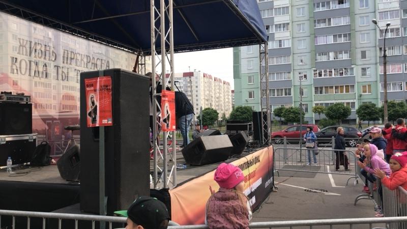 Маша Макарова, ех. группа «Маша и Медведи», ТРК ОКА. Акция: «Жизнь прекрасна, когда ты трезвый»