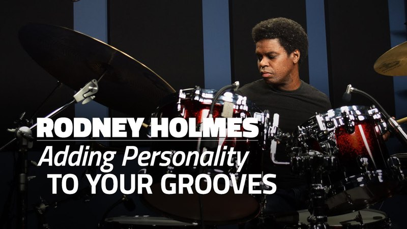 Rodney Holmes: Adding Personality To Your Grooves (FULL DRUM LESSON) - Drumeo