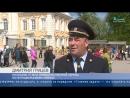 Сюжет на телеканале Санкт-Петербург о Сотрудниках вневедомственной охраны которые следили за порядком во время Музейной ночи