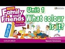 FAMILY AND FRIENDS STARTER UNIT 1 WHAT COLOUR IS IT