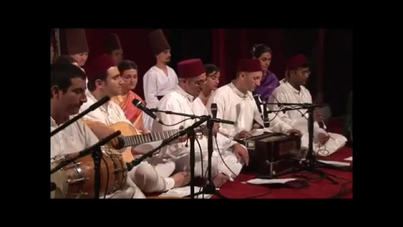 Khwaja Mere Khwaja, Qawali 2008 0719 Evening Program before Guru Puja, Cabella