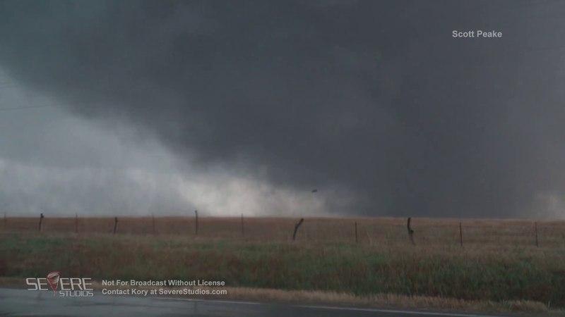 Culver, KS Wedge Tornado 5-1-18