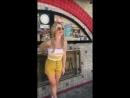 @EmilyBett shooting with @lesliealejandro in Los Angeles, California. [Dannidoesit IG Story.]