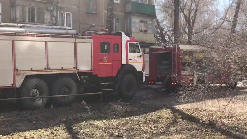 Возгорание на улице Циолковского