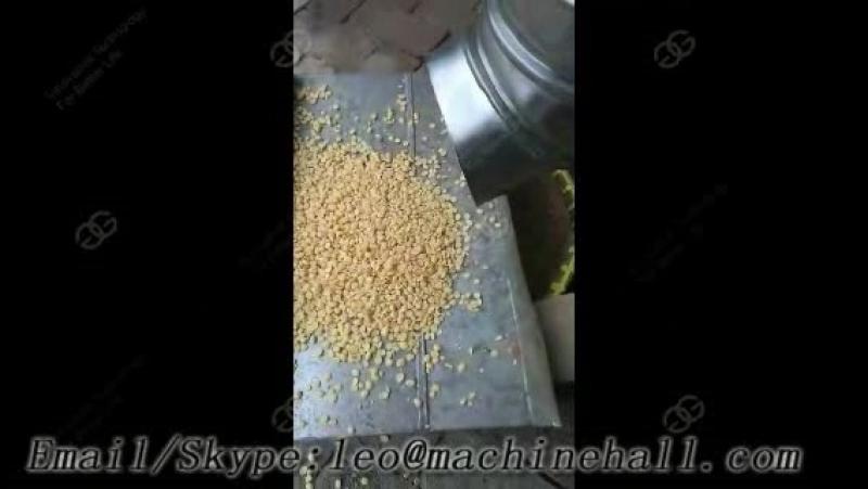 Soybean Skin Peeling Machine Test Video