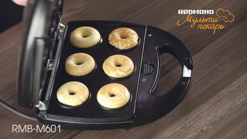 Рецепт: пончики Мультипекаре REDMOND, сменная панель RAMB-05