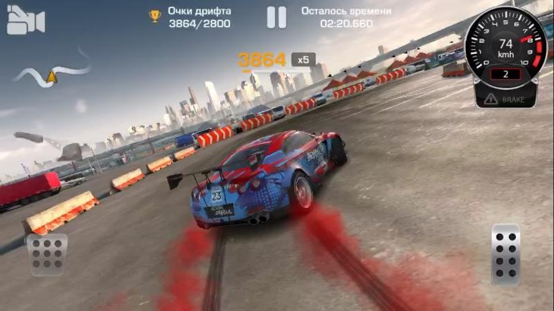 Drift na Nissan GT-R R35
