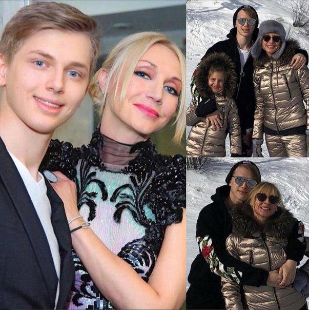 Сын взрослеет, мама молодеет: Кристина Орбакайте показала 19-летнего сына.