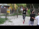 P. Reing feat. Waka Flocka Flame  chickens video behing the scene in Guyana