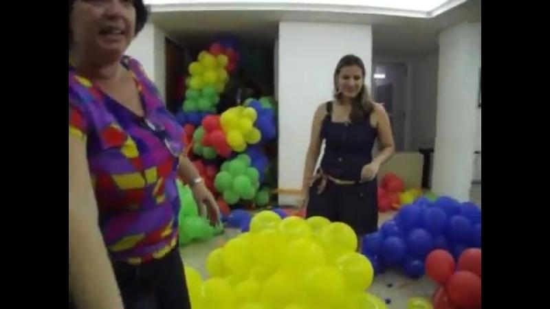 Estourando bolas