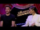 Zac Efron, Zendaya and Hugh Jackman interview - THE GREATEST SHOWMAN