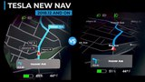 Tesla Versus - New Navigation VS Old Navigation
