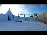 Когда много снега))