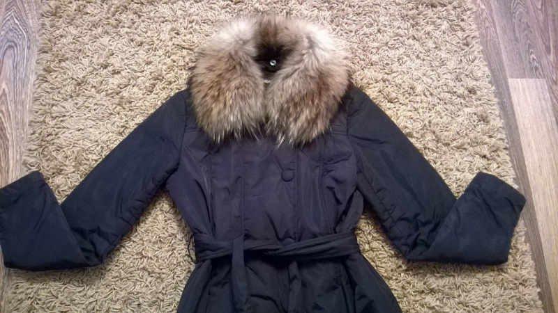 Пальто LAWINE by SAVAGE, размер 42-44,длина 98 см, 2 боковых кармана на молнии,внутренний карман на молнии,застёгивается на молн