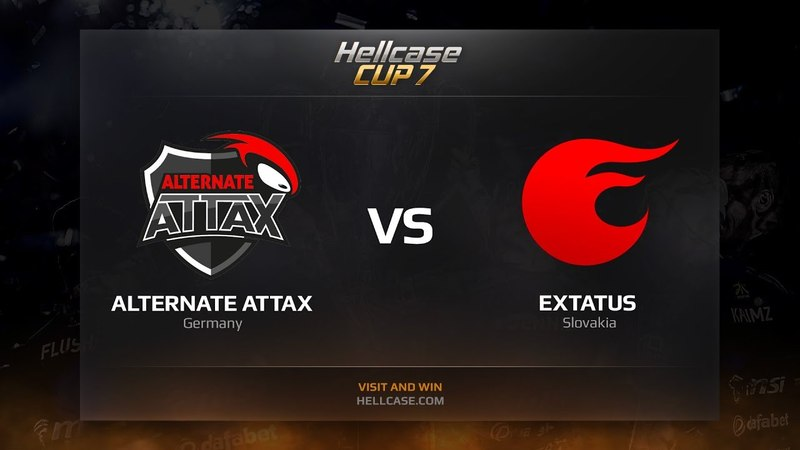 ALTERNATE aTTaX vs eXtatus map 2 cobblestone Hellcase Cup 7