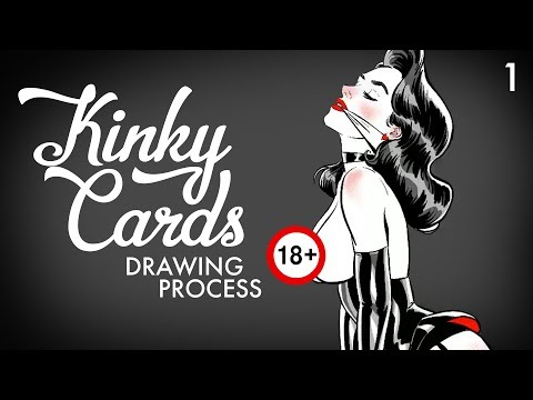 Kinky Card 1 [DRAWING PROCESS]
