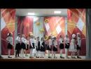Песенная композиция А ну-ка, девушки в исполнении творческих коллективов Дома Культуры.
