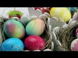 5 cпособов оригинально покрасить яйца к Пасхе 😍 2018 👌Как покрасить яйца