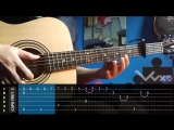 Tokyo Ghoul - Unravel - Fingerstyle Cover + TAB Tutorial.mp4