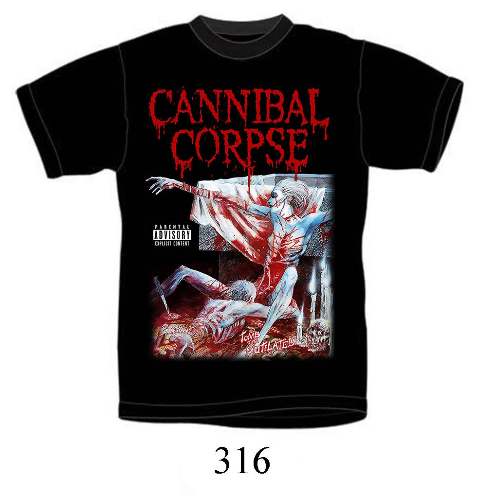 Футболка Cannibal Corpse