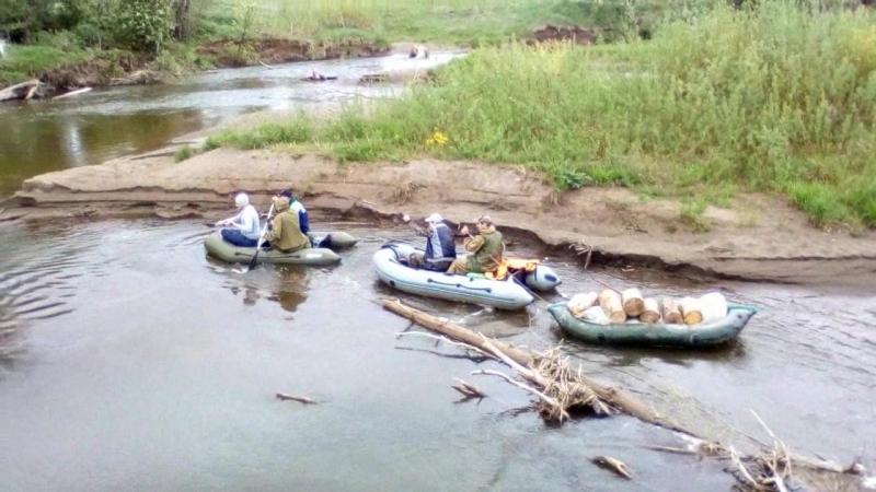 Сплав по реке Очер где то в 2017 ом
