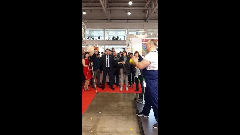 выступление на выставке выступление на выставке стекольная компания РСК