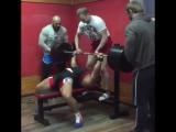 Андрей Сапожонков до 82.5 кг жмет лежа 252.5 кг