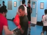 Ramon Dekkers en Gym Bunkai de Ciudad Real