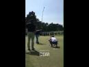 Найл на чемпионате по гольфу «BMW PGA Championship», 23/05