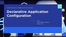 TIDE NYC 2018: Declarative Application Configuration: Mixing the Old with the New with Bryan Liles