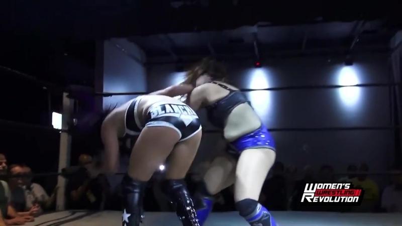 Tessa Blanchard vs Sonya Strong Womens Wrestling Revolution