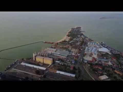 Ейск с высоты: отдых в Ейске, Азовское море, Ейский лиман